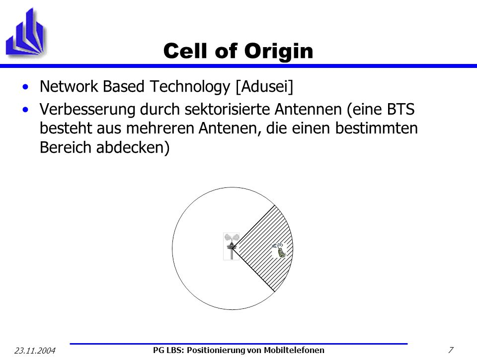 Cell of Origin Network Based Technology [Adusei]